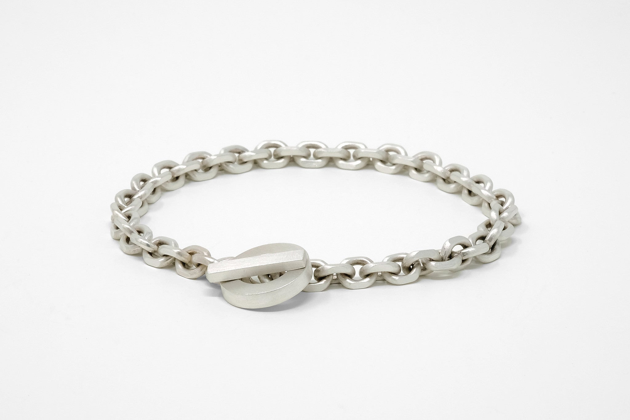 CS 6mm Chain Bracelet // Sterling Silver - Men's Chain Bracelet - MUJO NYC - 1