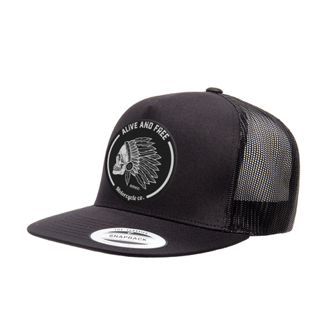 alive and free motorcycle co  Hats – Alive