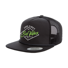 """Bad Vibes"" Trucker Snapback"