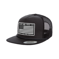 """Built for The Brave"" Trucker Snapback *SHIPS OCT 10TH*"