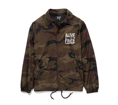 """Hell Or High Water"" Camo Coach Jacket *PREORDER* Limited Run"