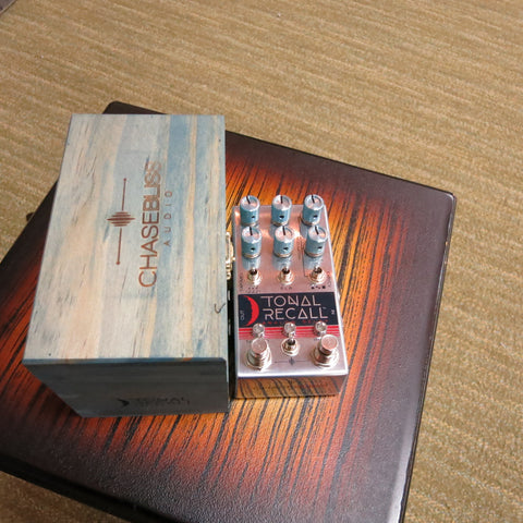 Used Chase Bliss Tonal Recall Delay