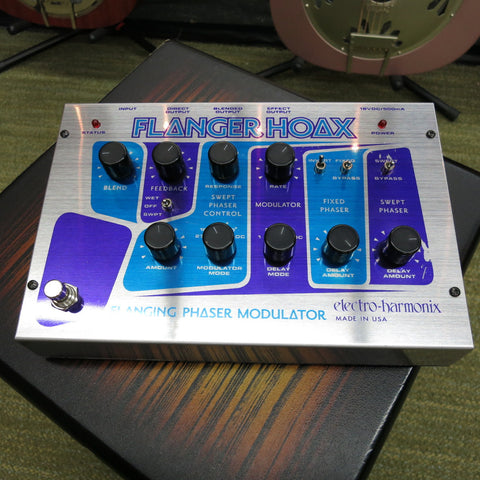 Used Electro-Harmonix Flanger Hoax Flanger Pedal