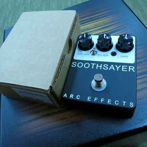 Used Arc Effects Soothsayer Distortion Pedal