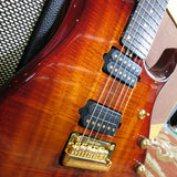 Used Ernie Ball Music Man Petrucci Koa BFR 6 w/OHSC