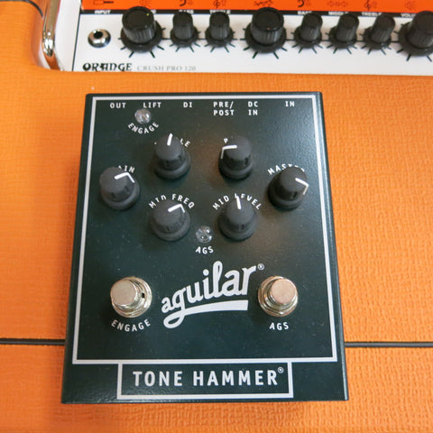Used Aguilar Tone Hammer Bass Preamp
