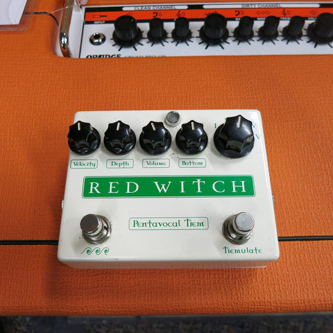 Used Red Witch Pentavocal Tremolo