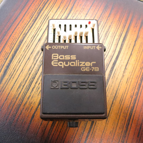 Used Boss GE-7B Bass Equalizer