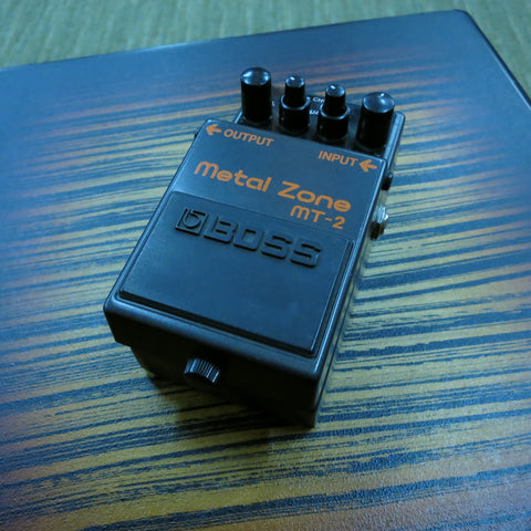 Used Boss MT-2 Metal Zone Distortion