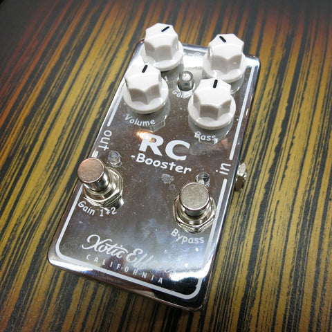 Used Xotic RC Booster Boost Pedal