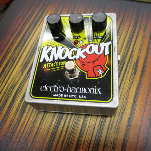 Used Electro-Harmonix Knockout Attack EQ Pedal