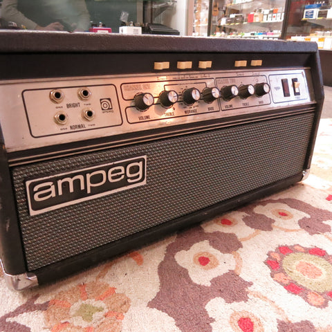 Used Vintage 1970's Ampeg SVT Bass Head