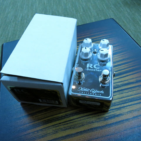 Used Xotic RC Booster Boost Pedal V2