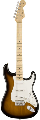 Fender American Original '50s Stratocaster Maple Fingerboard 2-Color Sunburst Electric Guitar 0110112803