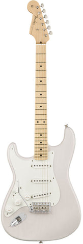 Fender American Original '50s Stratocaster Left Handed Maple Fingerboard White Blonde Electric Guitar 0110113801