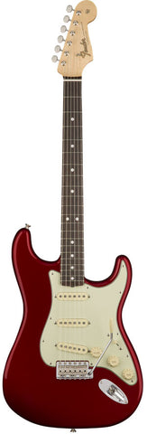 Fender American Original '60s Stratocaster Rosewood Fingerboard Candy Apple Red Electric Guitar 0110120809