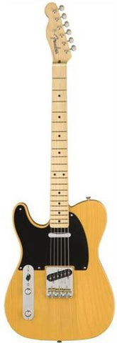 Fender American Original '50s Telecaster Left Handed Maple Fingerboard Butterscotch Blonde Guitar 0110133850
