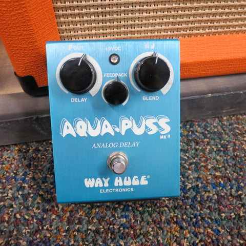 Used Way Huge Aqua Puss Analog Delay