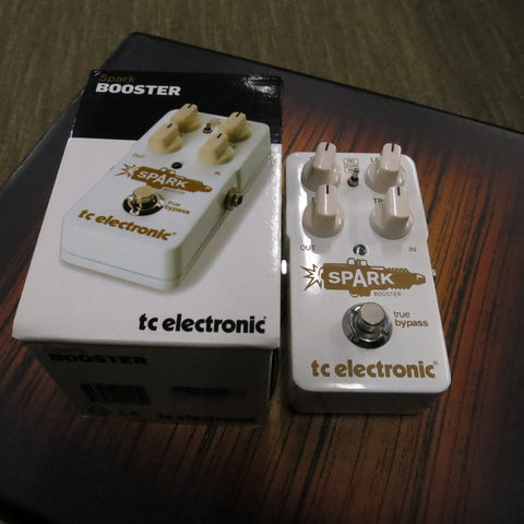Used TC Electronic Spark Booster Clean Boost