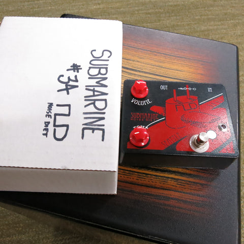 Used Noise Diet Submarine Fuzz