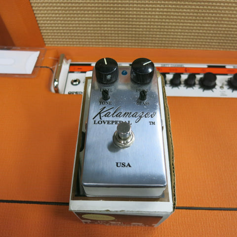Used Lovepedal Kalamazoo Chrome