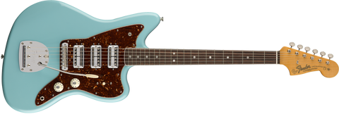 Fender 60th Anniversary Triple Jazzmaster Rosewood Fingerboard Daphne Blue 0173900704