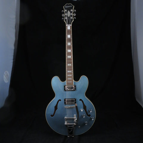 Used Epiphone ES-335 Dot TE Pelham Blue