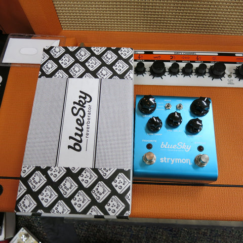 Used Strymon Bluesky Reverb