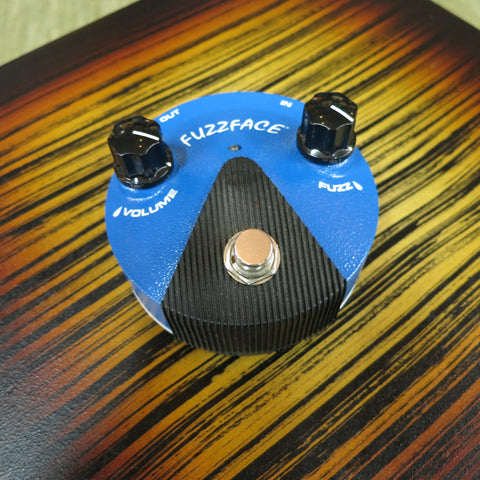 Used Dunlop Fuzz Face Mini Silicon Fuzz Pedal