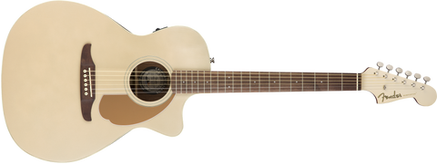 Fender California Series Newporter Player Acoustic Guitar Champagne 0970743044