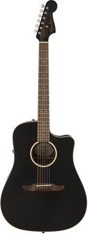 Fender California Series Redondo Special Acoustic Guitar Matte Black 0970813106