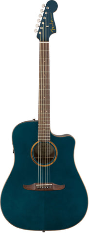Fender California Series Redondo Classic Acoustic Guitar Cosmic Turquoise w/bag 0970913299