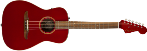Fender California Series Malibu Classic Acoustic Guitar Hot Rod Red Metallic w/bag 0970922215