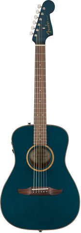 Fender California Series Malibu Classic Acoustic Guitar Cosmic Turquoise w/bag 0970922299