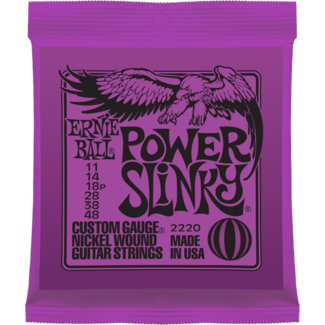 Ernie Ball P02220 Power Slinky Nickel Wound 11-48
