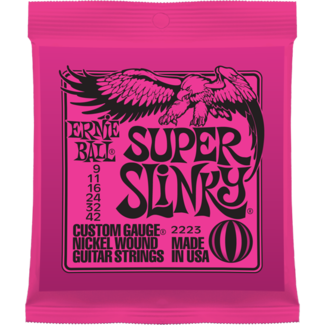 Ernie Ball P02223 Super Slinky Nickel Wound 9-42