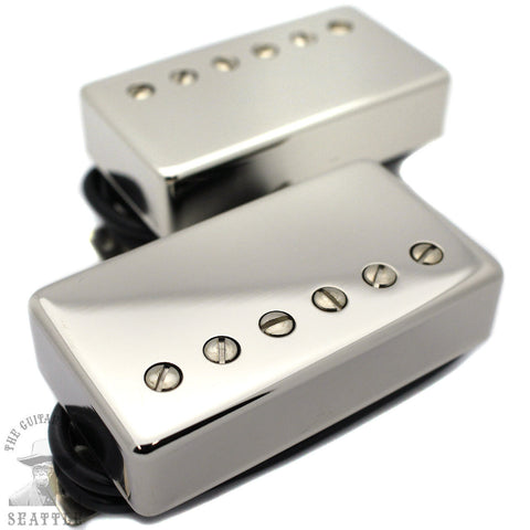 Wolfetone Marshallhead Nickel Humbucker Set Guitar Pickups