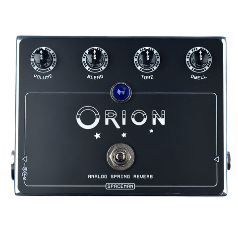 Spaceman Orion Analog Spring Reverb Pedal - Silver Edition