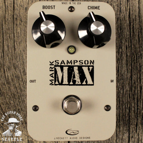 J. Rockett Mark Sampson MAX Expander/Boost Pedal