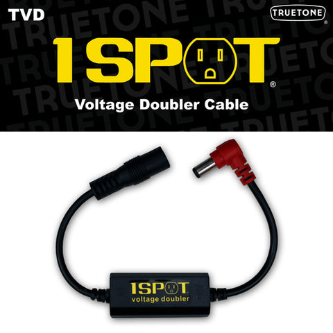 Truetone 1 Spot Voltage Doubler Cable