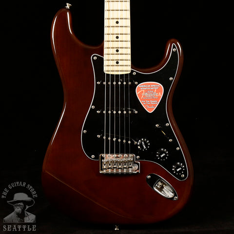 Fender American Special Stratocaster Maple Fingerboard Walnut 0115602392