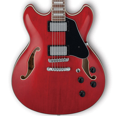 Ibanez Artcore AS73 Semi-Hollow Transparent Cherry Red