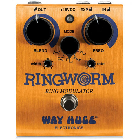Way Huge Ringworm Ring Modulator Pedal