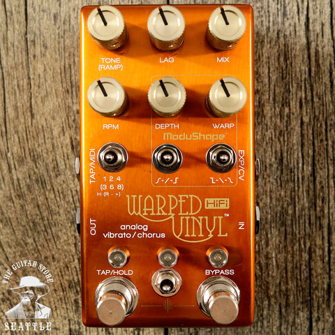 Chase Bliss Audio Warped Vinyl HiFi Edition Pedal