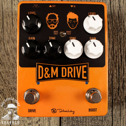Keeley D&M Drive Boost Overdrive Pedal *B-stock