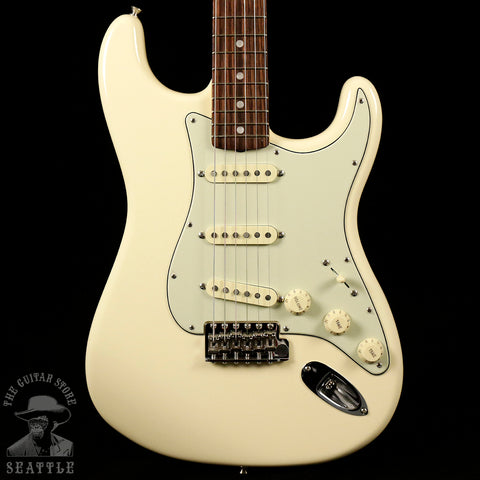Fender American Original '60s Stratocaster Rosewood Fingerboard Olympic White Electric Guitar 0110120805