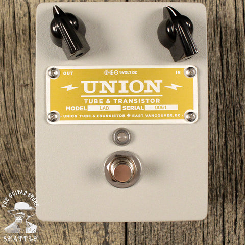 Union Tube & Transistor Lab Optical Compressor Pedal