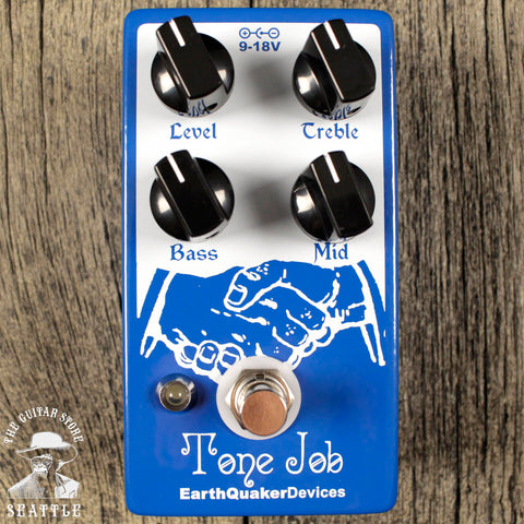 Earthquaker Devices Tone Job EQ and Boost Pedal