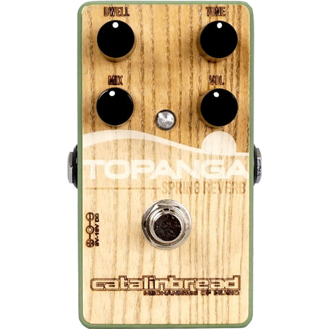 Catalinbread Topanga Reverb Pedal - Special Edition Woody