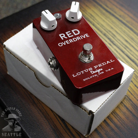 Used Lotus Red Overdrive